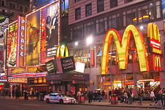 NYPD at Times Square McDonalds | by Mike G. K.