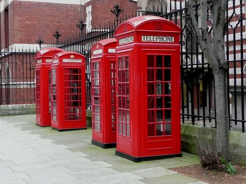 Red Telephone Boxes, Carey Street, London | by Richard and Gill
