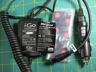 The Targus car adapter is really an iGo | by curiouslee