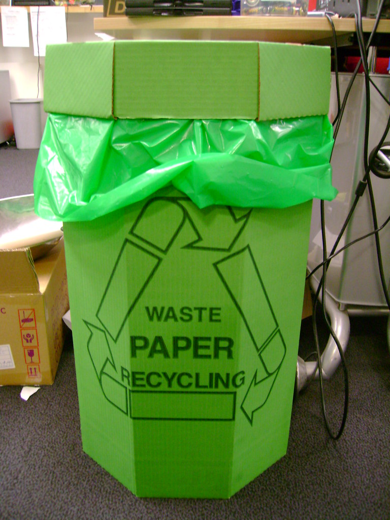 Essay on recycling waste materials