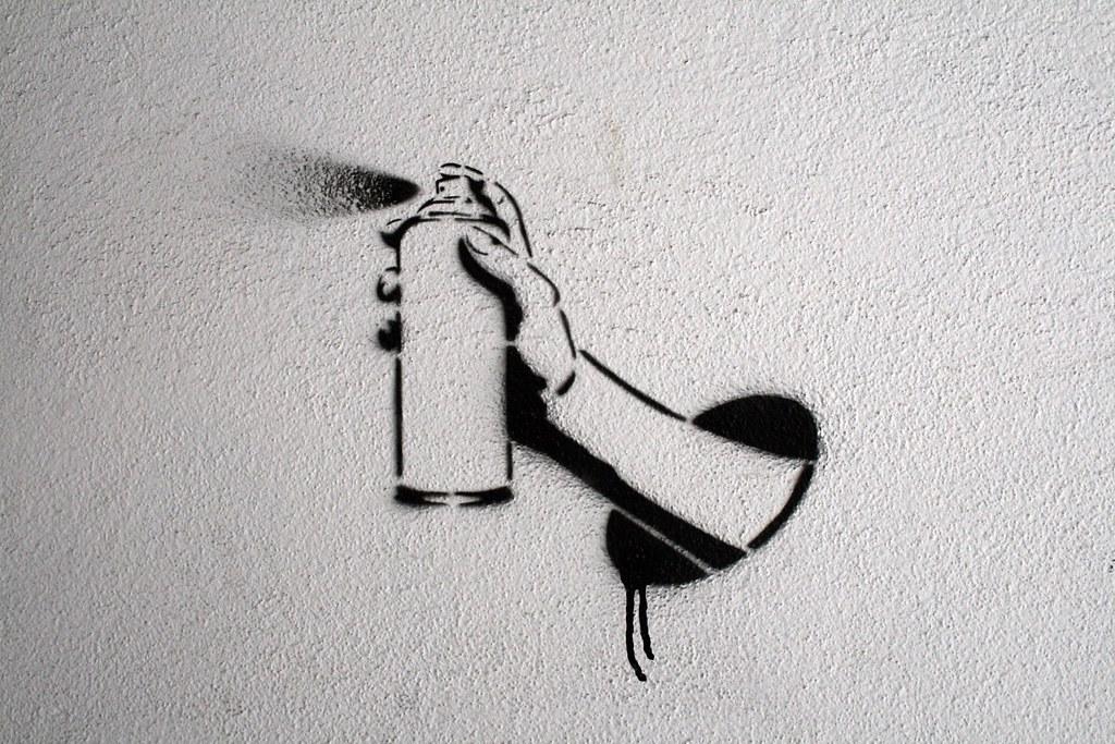 Art On Spray Paint