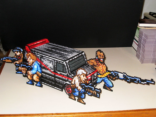 A-Team: Van and Group Bead Sprites | by Doctor Octoroc