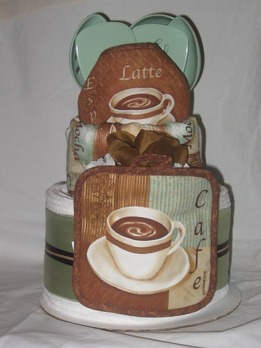 Cafe Latte Kitchen Towel Cake This Cake Will Be The Star