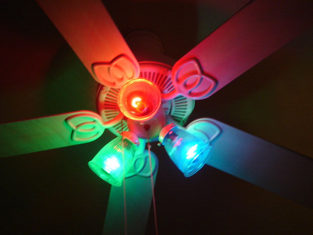 Colorful Ceiling Fan Lenka Reznicek Flickr