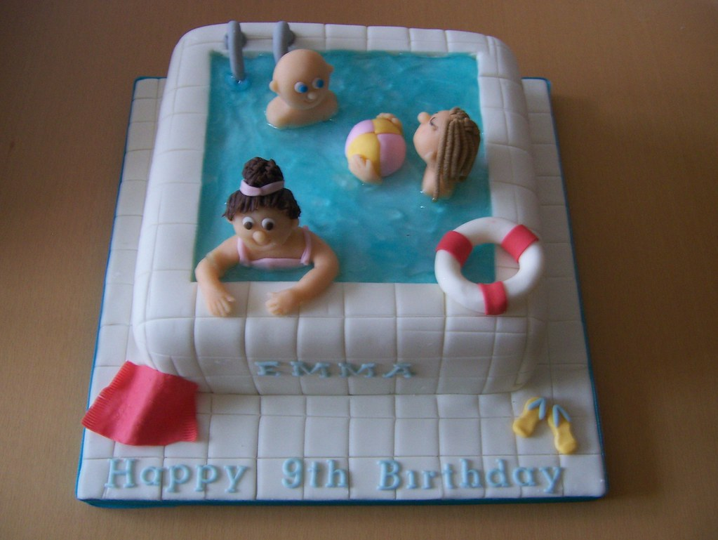 Lovely ... Swimming Pool Cake | By Casa Costello