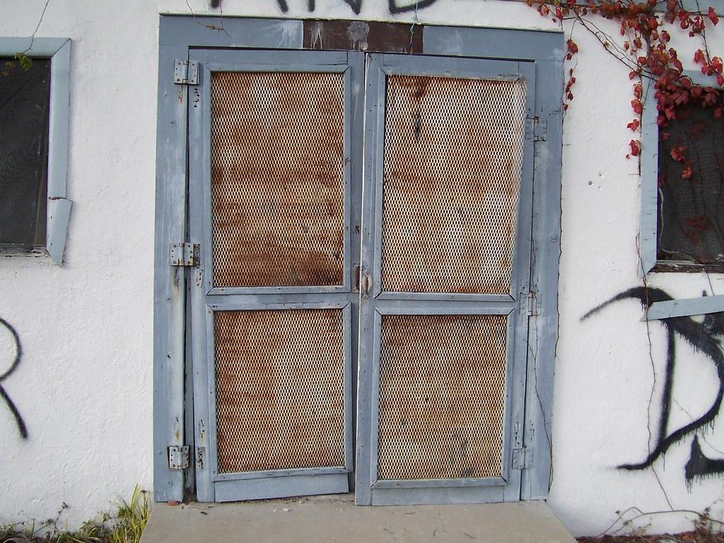 ... Deep Lake abandoned prison doors to despair | by mainmanwalkin & Deep Lake abandoned prison doors to despair | this leads to u2026 | Flickr