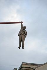 Witness Sigmund Freud dangling from a beam - Things to do in Prague