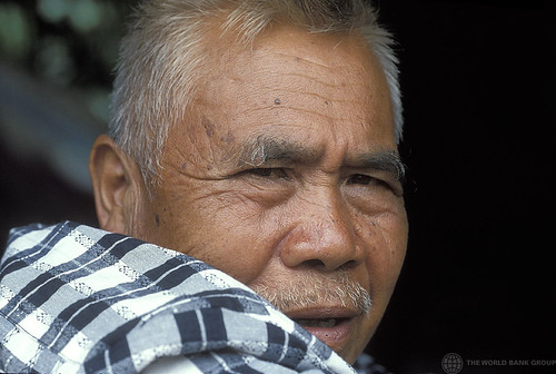 Portrait of man. Indonesia. | by World Bank Photo Collection