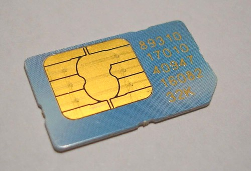 PacBell SIM Card Back | by craig1black