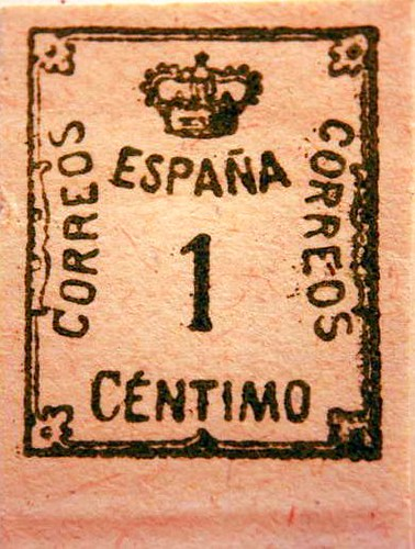 Spanish Stamp This One Is Old A47 Scott Catalogue John Flannery Flickr