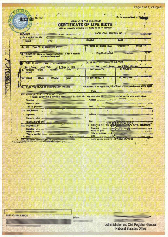 All sizes filipino spouse nso birth certificate flickr download yadclub Gallery