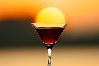 Sunset Wine3  ice cream float:) | by ♥ Spice (^_^)