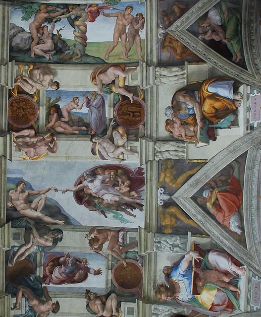 Sistine Chapel Ceiling Creation Of Adam | www.imgkid.com ...