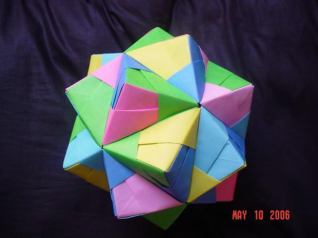 Sonobe Unit Cumulated Icosahedron