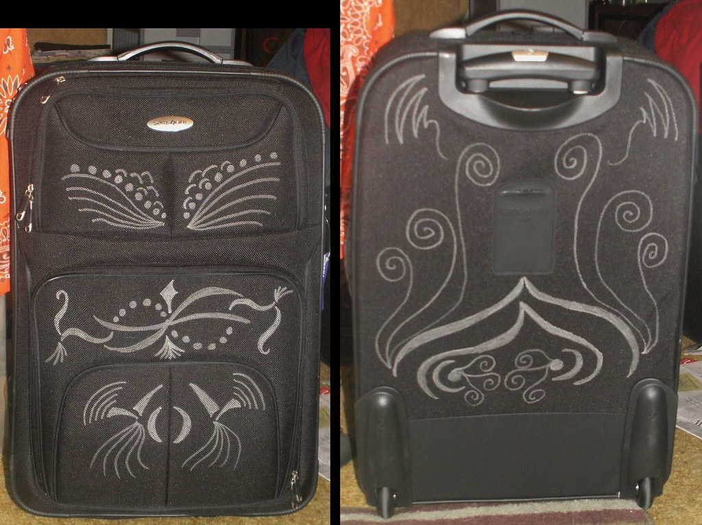 Personalized Luggage | Foreseeing the potential difficulty i… | Flickr