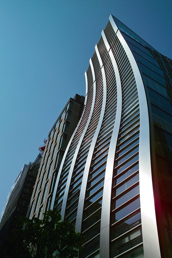 bending building