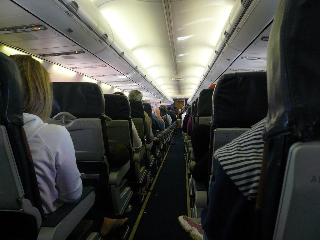 Inside A Southwest Airplane Michael Gray Flickr