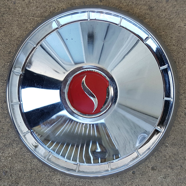 Studebaker hubcap after