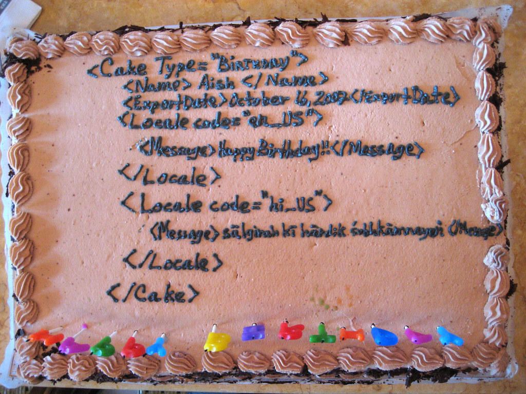 computer nerd birthday cake | Today is one of my co-worker ...