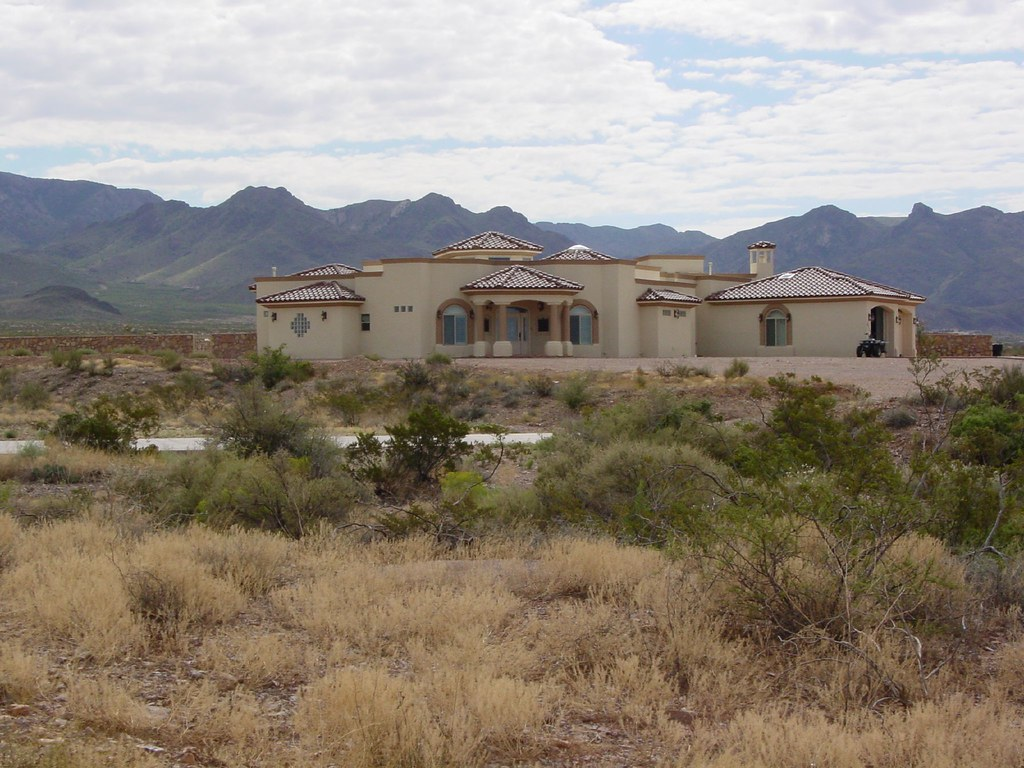 Desert house in new mexico desert house with the organ mou flickr - The cave the modern home in the mexican desert ...