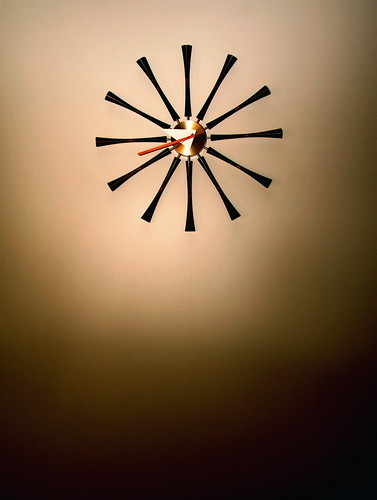 nelson spindle clock | by shawnwall
