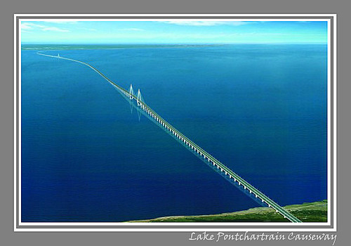 Lake Pontchartrain Causeway This Was Not Made By Me