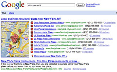 More & More Local Links in Google | by rustybrick