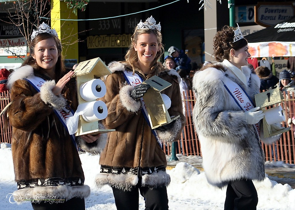 Miss Fur Rondy And Her Court Fur Rondy Royal Court