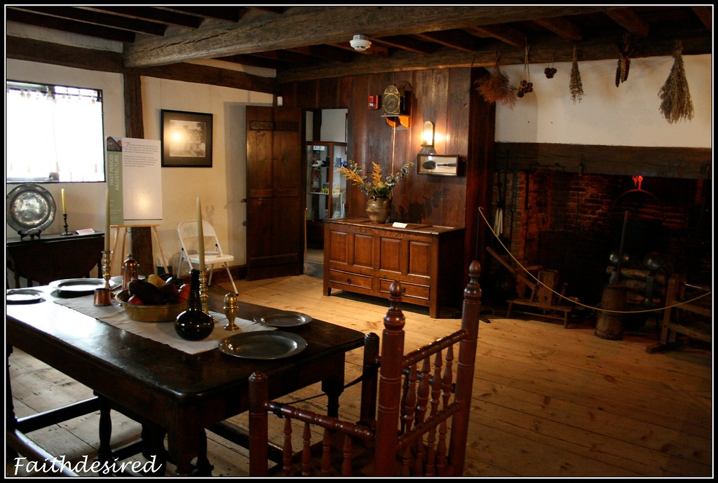 Inside The Witch House Jonathan Corwin House Salem Mass