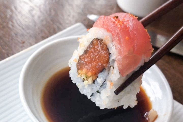 tuna tempura recipe dishmaps shiso spicy tuna tempura recipes dishmaps ...