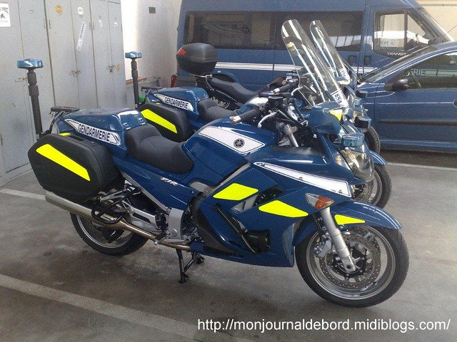 yamaha fjr 1300 gendarmerie 3 laurent flickr. Black Bedroom Furniture Sets. Home Design Ideas