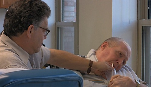 Al Franken in the shoes of a health care worker | by Chuckumentary