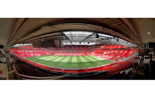 Manchester United-Old Trafford HDR Panoramic | This is ...