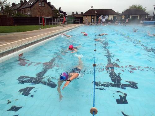 Hathersage Open Air Heated Swimming Pool Triathlon Train