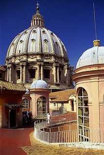 "Rome - St. Peter's Basilica ""From the Rooftop"" 
