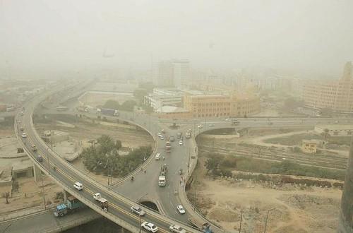 Bridge Near Tower Karachi