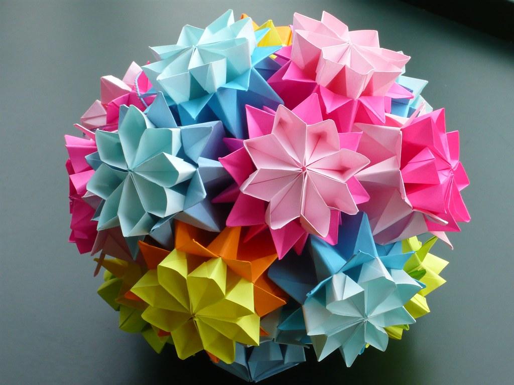 Flower Kusudama \