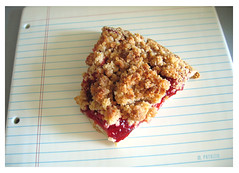 cherry crumb pie from fairway | by m patrizio