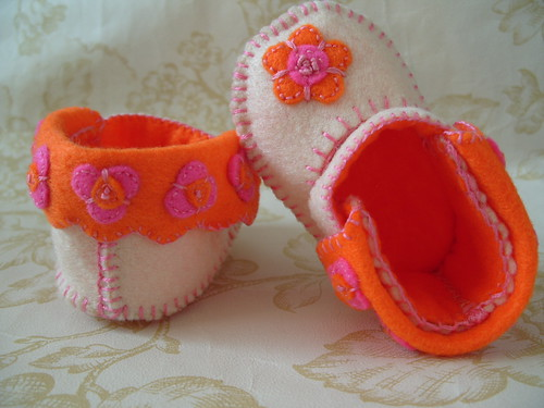 Baby Shoes Hand Make