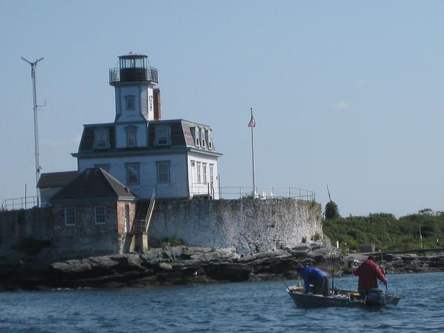 Rose Island Lighthouse Hotel