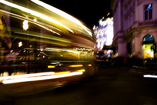 London Busses at night | by robmcm