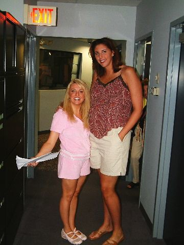 allison and kara Wolters at WRCH | Kara now does Play by ...