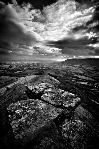 Rocky outcrop on a hill that is Black | by Spkennedy3000 - Architectural Photographer