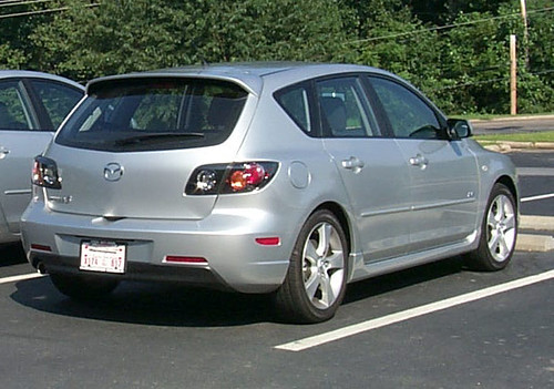 2005 Mazda 3 rear | Glynis' Mazda 3. | autocycle | Flickr
