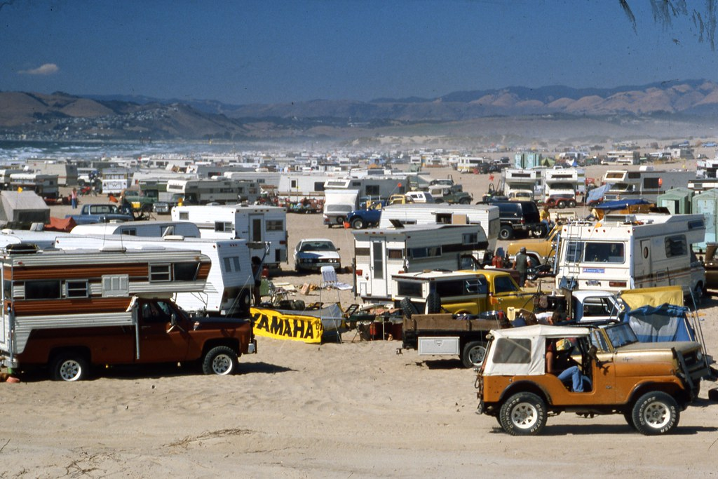 Pismo Beach Rv Paradise Late 1970 S Rv Camping At The