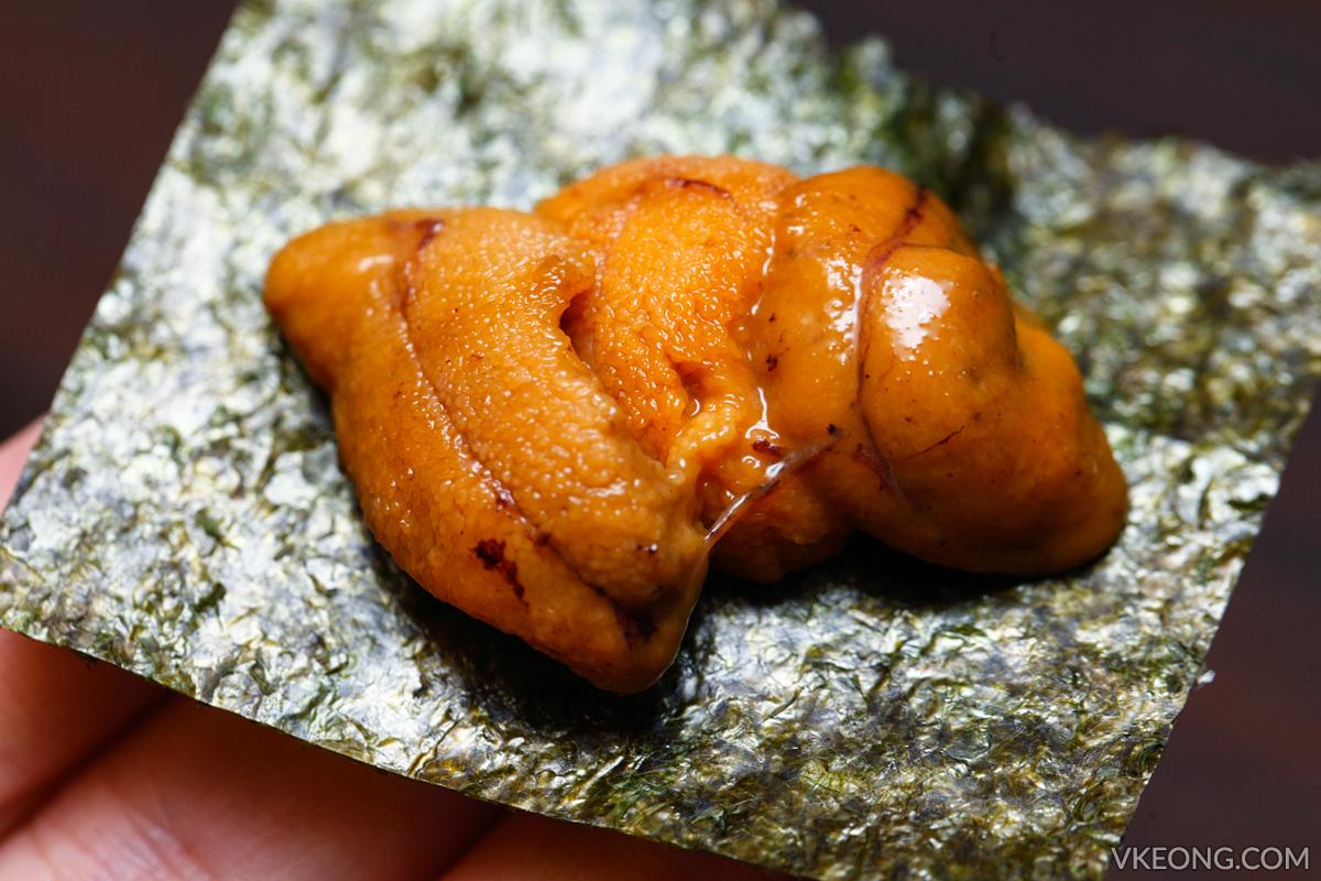 Ishin Hokkaido Uni Sashimi