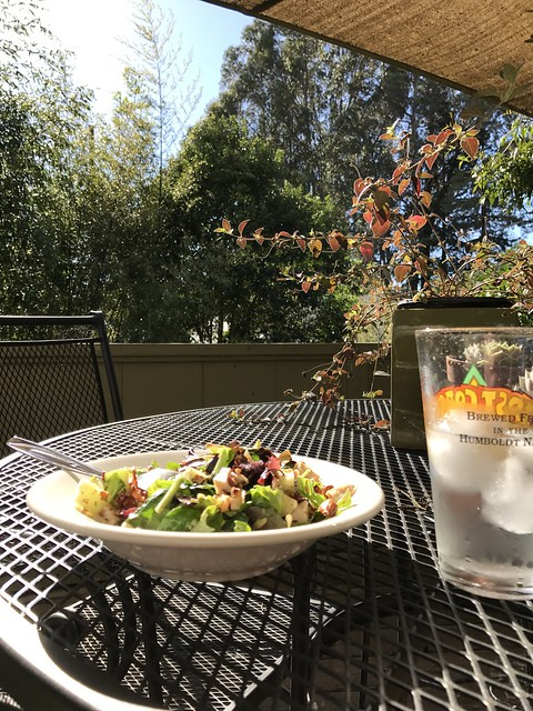 Lunch outside!