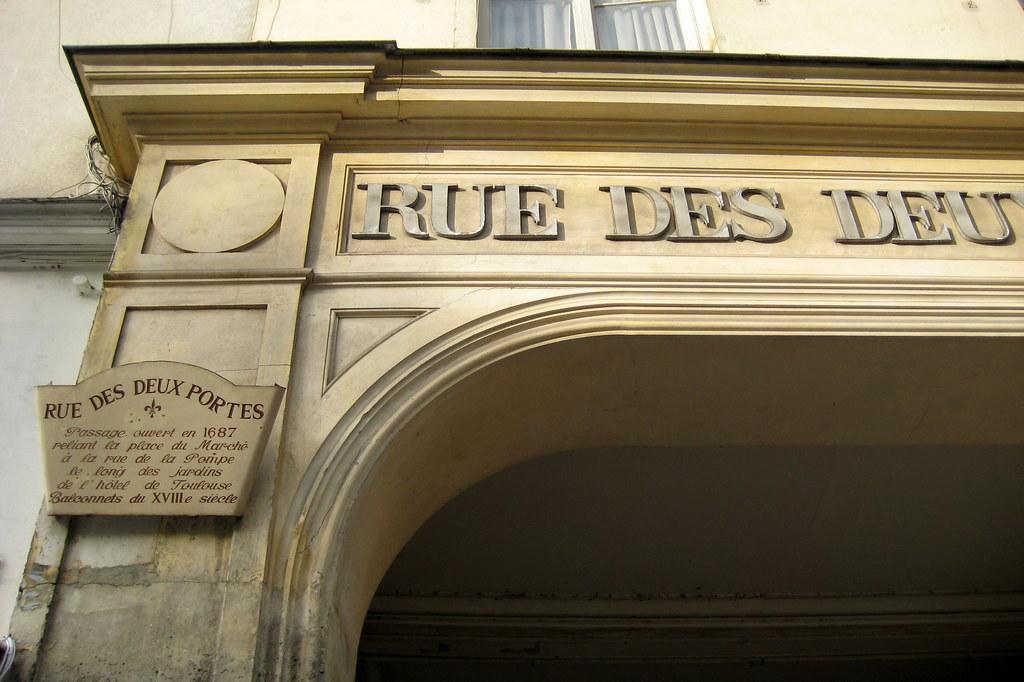 Versailles rue des deux portes rue des deux portes a - Creperie passage des deux portes versailles ...