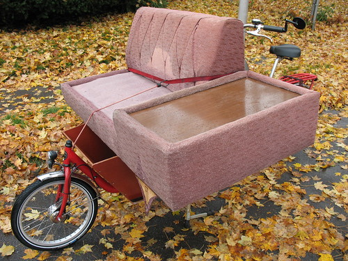 couch by bike | by Mark Stosberg