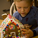 ethan's first gingerbread house